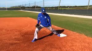 Baseball Basic First Base Footwork Drills Fundamentals Of First Base Series By