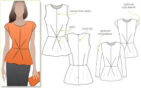 Peplum Top Pattern