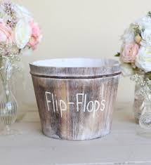 Morgann Hill Designs Etsy Beach Wedding Flip Flops Bucket By Morgann Hill Designs