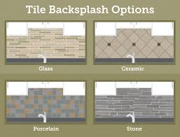varieties of tile backsplash