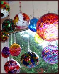 Glass Balls For Decoration love the way they display their witch ballsgotta do this home 16