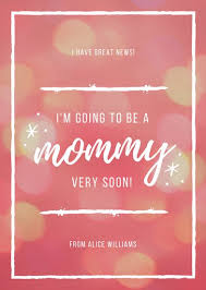 free ecard pregnancy announcement customize 129 pregnancy announcement templates online canva