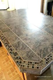 tile edging options and edge crafty life kitchen makeover final reveal part one tiled countertop granite tile edge options countertop