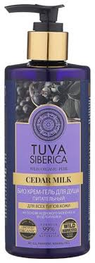 Купить <b>Гель для душа</b> Natura Siberica Tuva <b>Cedar</b> milk, 300 мл по ...