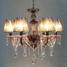 chandelier appealing candle light chandelier vintage candle chandelier with brown lamp cover and crystal