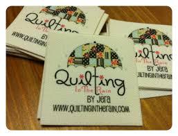 quilt labels personalized Sew-On | Custom Made Quilt Labels ... & Custom Made Quilt Labels - Quilting In The Rain Adamdwight.com