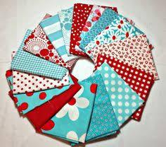8 FQ Vntg Americana Stars Stripes Printed Muslin Cotton Quilt ... & Aqua and Red - 16 Cotton Quilt Fabric Fat Quarter Bundle Adamdwight.com