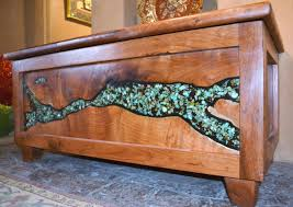 one of a kind mesquite furniture turquoise erfly