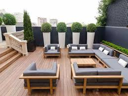 trendy outdoor furniture. Wood Contemporary Outdoor Furniture Trendy E