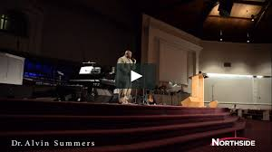 Dr. Alvin Summers at Northside on Vimeo