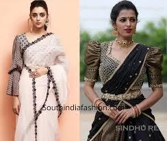 Statement Blouse Designs Stylish Saree Blouse Sleeves Designs Stylish Sarees Saree