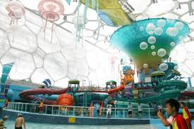 underwater water park. Watercube Waterpakr Beijing Underwater Water Park T
