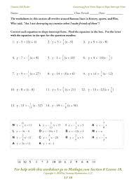 worksheet worksheets writing equations practice chemical from worksheet worksheets writing equations using slope intercept form worksheet answer key