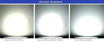 Led Light Color Chart Led Color Temperature Chart Jasonkellyphoto Co