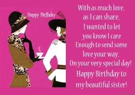 Happy Birthday Beautiful Sister Quotes Best Of 24 Happy Birthday Big Sister