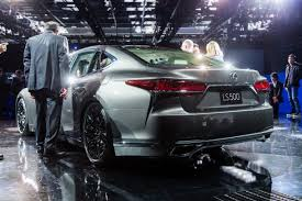 2018 lexus pickup.  2018 2018 lexus ls at naias rear 34 image  2017 mark stevenson with lexus pickup