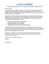 Resume Best Management Cover Letter Examples Livecareer