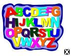 Обложка раскраска для английской азбуки