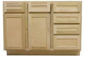 48 In Sink Drawer Bathroom Vanity Base Cabinet In Unfinished Poplar Shaker Style