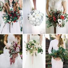 15 Wonderful Winter Wedding Bouquets Fiftyflowers The Blog
