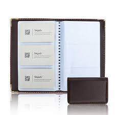 leather business card holders segarty 2pack pu leather business name cards holder book with 120 pockets