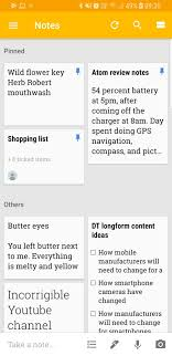 Material Design Notes Take Note Keep Notes Is The Latest App To Get Googles