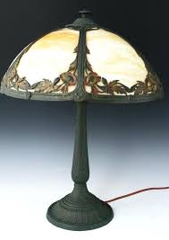 slag glass lamp slag glass lamp repair