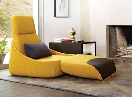 Chairs, Indoor Lounge Chairs Buy Chaise Lounge Singapore Yellow And Black  Combination Colour White Wall