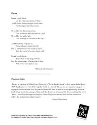 break see a dot music publishing inc  break choral cover inside cover break