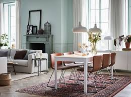 live in luxury but at an affordable ikea ekedalen white extendable table and