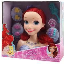 Кукла-торс Just Play Disney Ариэль <b>голова для причесок</b>, 87110 ...