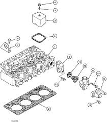parts for case 550e long track crawler tractor mouse over diagram to magnify case 550e engine cylinder head and covers 4 390 engine 4t 390