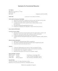 Combination Resumes Examples Examples Best Combination Resume ...