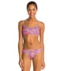 Dolfin Uglies Soiree Workout Two Piece Swimsuit Set