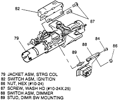 Chevy Light Switch Cover Repair Guides