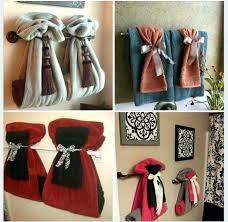 How To Fold Hanging Bathroom Towels Towels Bathroom Towel Hanging