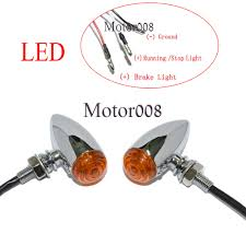 3 wire led turn signal promotion shop for promotional 3 wire led 3 Wire Turn Signal Flasher motorcycle amber led 3 wires chrome bullet mini turn signal running lights for harley sportster dyna softail bobber chopper 3 wire turn signal flasher unit wiring