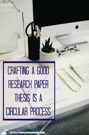 how to craft the perfect research paper thesis acirc the cafe scholar thesis in the outline you will touch your research paper thesis several times while writing your proposal in
