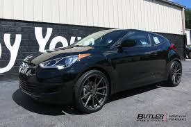 hyundai veloster black rims. hyundai veloster with 19in tsw bathurst wheels black rims