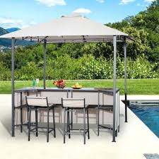 outsunny outdoor furniture outdoor bar table set cloth canopy 2 chairs patio backyard furniture outsunny garden furniture reviews