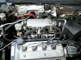 Cold engine start Fiat UNO (with Toyota 4EFE engine) - YouTube