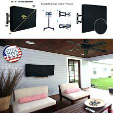 inch cover outdoor for led weatherproof universal wall mount premium dust best tv covers 55 waterproof