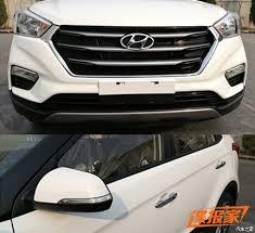 2018 hyundai creta facelift. delighful 2018 2018 hyundai creta 2018 ix25 exterior spy shot in hyundai creta facelift