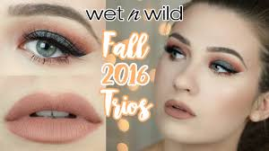 wet n wild fall 2016 trio collection duochrome makeup tutorial you