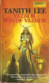 vazkor son of vazkor by tanith lee book cover 1982 1981 ken kelly