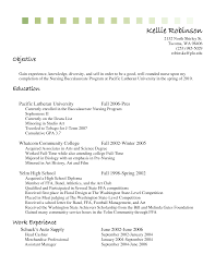 Resume Objectiveor Cashier Sample Position With No Experience