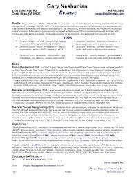 gary neshanian2336 elden ave scrum master resume