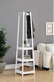 Free Standing Coat Rack With Shelf Amazon Best Choice Products Home Furniture Standing 100Tier 6