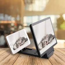 3D cep telefonu ekran büyüteci Video amplifikatör akıllı telefon standı  büyütülmüş büyüteç telefonu filmler akıllı telefon braketi tutucu Phone  Screen Amplifiers