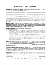 Sample Lease Agreement Templates - Free Download, Edit And Sign